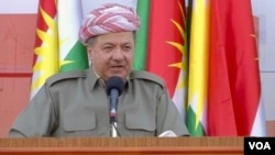Presiden Pemerintahan Regional Kurdistan, Massoud Barzani (foto: dok).