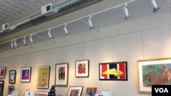 """Radovi umetnika sa razvojnim poremećajima izloženi su u neprofitnoj galeriji i studiju """"Umetnost omogućava"""" u američkoj prestonici."""