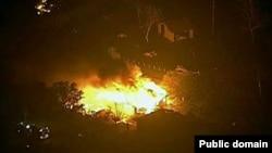 美國德克薩斯州一座化肥廠星期三晚間發生劇烈爆炸.