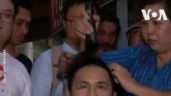 ԱՌԱՆՑ ՄԵԿՆԱԲԱՆՈՒԹՅԱՆ. Թայլանդցին ի նշան բողոքի սափրել է գլուխը