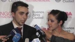 مراسم فینال جشنواره و مسابقات بین المللی تانگو در آرژانتین
