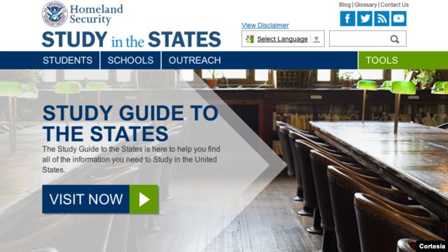 Sitio web busca ayudar a estudiantes internacionales talentosos sobre oportunidades de educación en EE.UU.