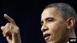 Tổng thống Obama nói với báo chí rằng kinh tế đã bình ổn