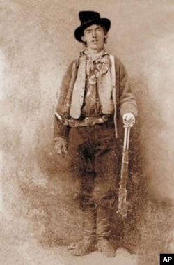Taken sometime in late 1879 or early 1880, this is the only known photograph of Billy the Kid. It sold at auction in 2011 for $2.3 million, the most ever paid for a historic photo.