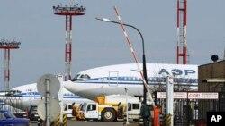 莫斯科謝列梅捷沃國際機場。(資料圖片)
