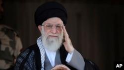 伊朗最高領袖哈梅內伊(資料圖片)