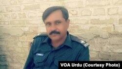 فائرنگ میں ہلاک ہونے والے اسسٹنٹ سب انسپکٹر خالد گوہر۔ (فائل)