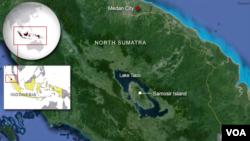 Medan City and Samosir Island, North Sumatra