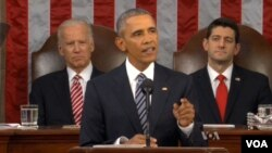 President Obama delivers the 2016 State of the Union Address, Jan. 12, 2016