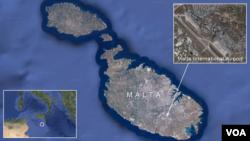 被劫持的利比亚飞机在马耳他降落