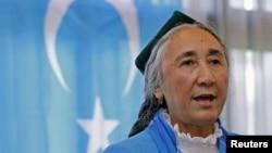 世界維吾爾代表大會主席熱比婭