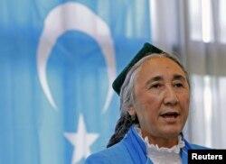 世界维吾尔大会主席热比娅