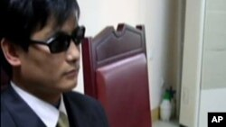 山東盲人維權人士陳光誠資料照