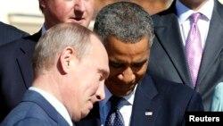 Başkan Barack Obama Rusya Cumhurbaşkanı Vladimir Putin'le geçen hafta St. Petersburg'daki G20 toplantısında