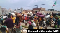 Des réfugiés congolais installés dans les camps de la région de Rumonge, Burundi, le 26 janvier 2018. (VOA/ChristopheNkurunziza)