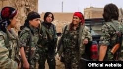 Arşîv: Şervanên YPG'ê