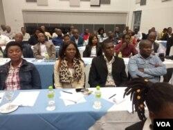 Umhlangano wabadabuka kwele Zimbabwe abahlala eBotswana.