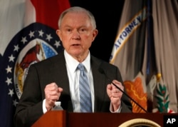Attorney General Jeff Sessions in St. Louis last week.