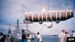 Batiskaf Trst kojim su se 1960. godine Žak Pikar i Donald Volš spustili na dubinu od oko 11 hiljada metara, do najdublje tačke na zemlji