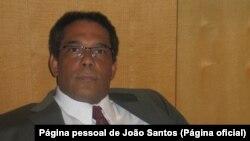 João Santos, professor de Direito