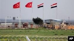 Пограничный КПП на турецко-сирийской границе (архивное фото)