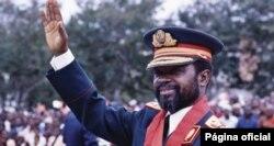 Samora Machel, en 1984