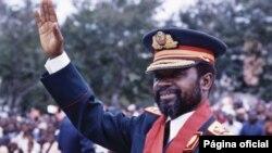 Samora Machel, em 1984