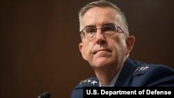 美军参谋长联席会议副主席、空军上将海腾(General John Hyten) (美国国防部2019年7月30日照片)