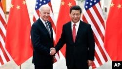 Wapres AS Joe Biden menyatakan keprihatinan soal zona pertahanan udara baru China dalam pertemuan dengan Presiden Xi Jinping di Beijing, Rabu (4/12).