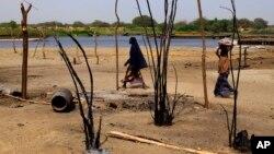Kawasan di sekitar Danau Chad yang sering menjadi sasaran serangan militan Boko Haram (foto: ilustrasi).