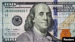 FILE - The front of the newly designed $100 bill.
