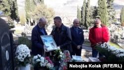 Bosnia and Herzegovina--Anniversary of death of Srdjan Aleksic, Trebinje, January 27, 2020.