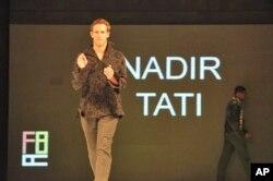 Colecção masculina de Nadir Tati