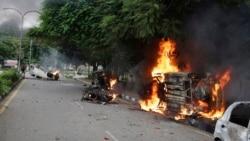 VOA Asia – Unrest follows Indian guru's rape conviction