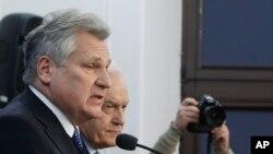 波兰前总统克瓦希涅夫斯基