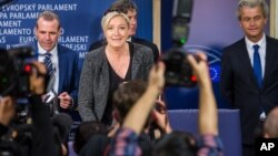 Liderka Nacionalnog fronta Marin Le Pen