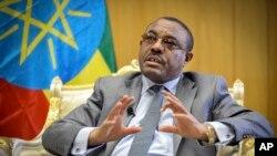 Le premier ministre éthiopien Hailemariam Desalegn a dénoncé ce massacre lors d'un passage télévisé.