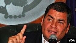 """El """"espionaje"""" se encuentra bajo la investigación de la policía ecuatoriana."""