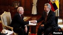 El subsecretario de Estado para Asuntos Políticos, Thomas A. Shannon Jr., inició una gira por Ecuador, Colombia y Chile. Su primer destino fue Ecuador donde se reunió con el presidente Lenín Moreno.
