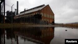 Una fundición de acero abandonada en la zona industrial de Pittsburgh, una de las áreas con decrecimiento de población.