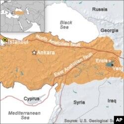 ترکی : زلزلے سے ہلاکتوں میں اضافہ