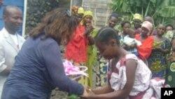 Des vicitmes de viol dans l'est de la RDC (Archives)