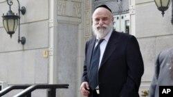 Levy Izhak Rosenbaum fue hallado culpable de adquirir, recibir y transferir órganos, además de cargos por conspiración.