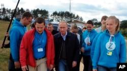 Путін у Селігері