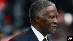 Former South African president Thabo Mbeki says Sudan peace talks have been adjourned to allow parties to study a draft cessation of hostilities agreement.