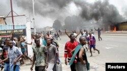 Manifestations violentes à Kinshasa, 20 septembre 2019.