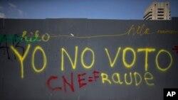 Venezuela Regional Elections