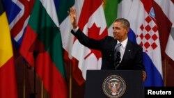 Obama, Brüksel ziyaretinde
