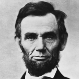 Abraham Lincoln, at 193 centimeters, was one of our tallest presidents. He loomed over his second opponent, Stephen A. Douglas, who stood just 163 centimeters.