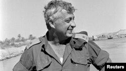 Ảnh chụp năm 1973 khi ông Ariel Sharon là Thiếu tướng của Israel